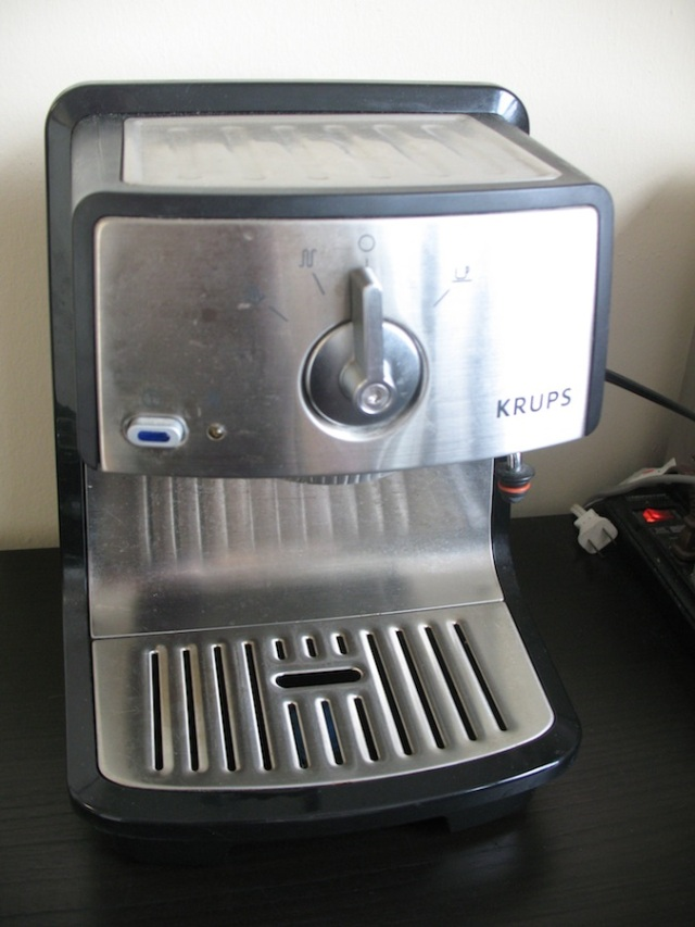My machine, a Krupps from about 5 years ago