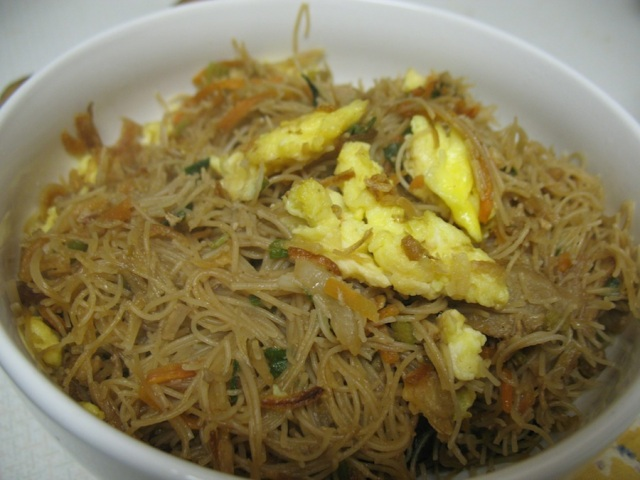 """BIHUN GORENG"" $4.  Definitely worth $4."