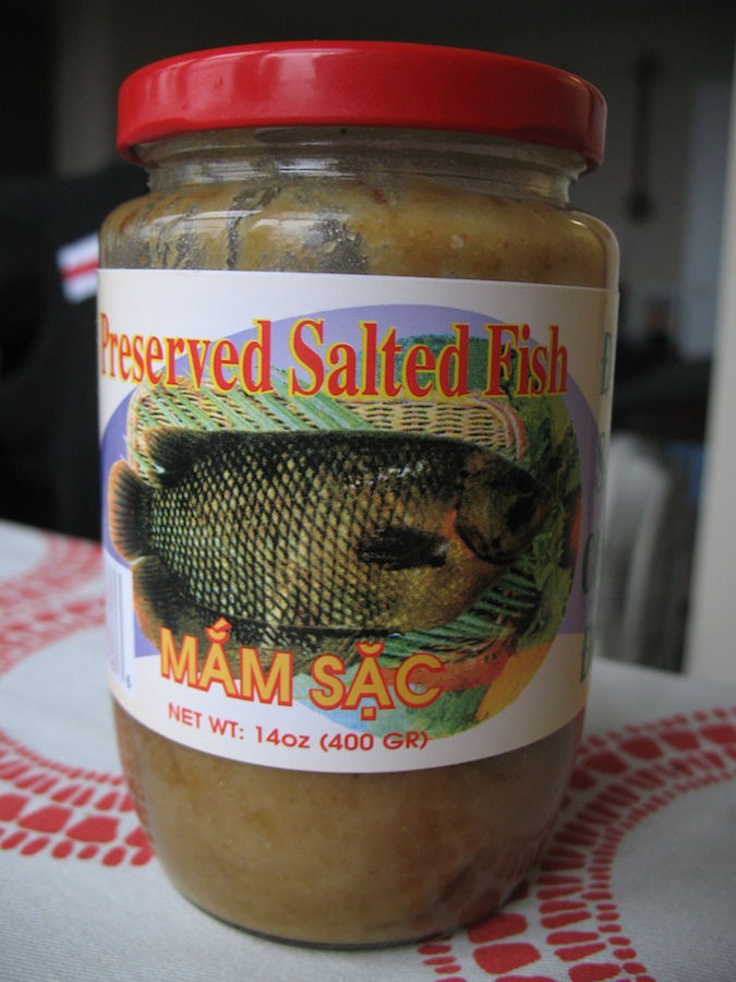 More khrok fun fermented fish and a spicy isaan dip for Fermented fish sauce