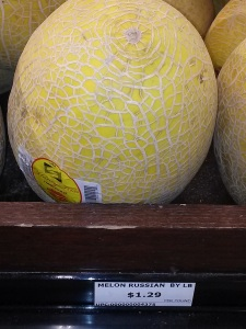 Ha! Same melons found in Chinatown, but here labeled