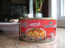 """standard grocery store """"red curry paste"""""""
