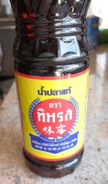 "essential - fish sauce, our favorite brand ""Tiparos"""
