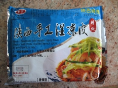Qinzong brand Shaanxi handmade cold noodle 秦宗陕西手工湿凉皮