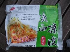 Qinzong brand Shaanxi liangpi, ganmian pi 陕西凉皮擀面皮